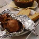 Kartoffel und Zwiebel vom Grill
